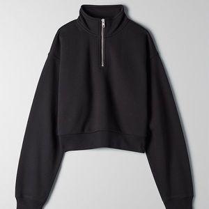 Aritzia TNA Warm Up Crop Sweater